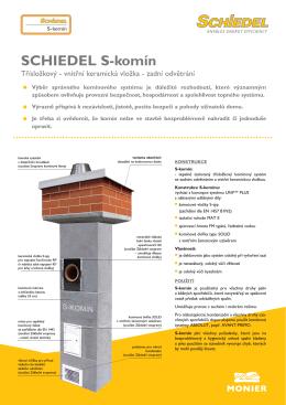 Schiedel S komín