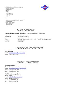 GORDON-Bankovn_spojen_pro_R - Hurtownia Motoryzacyjna Gordon