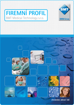 PDF soubor - BMT Medical Technology sro