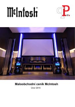 Maloobchodní ceník McIntosh