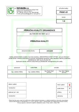 PK001 Příručka kvality.pdf - Greif