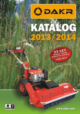 Katalog DAKR 2013