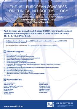 PDF letáku - Společnost pro klinickou neurofyziologii