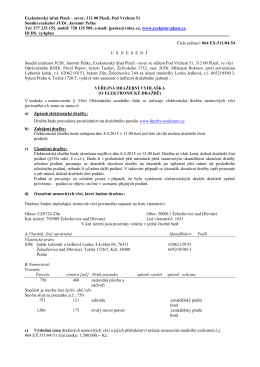 Exekutorský úřad Plzeň – sever, 312 00 Plzeň, Pod Vrchem 51