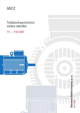 C,VC,KC - Elektromotory