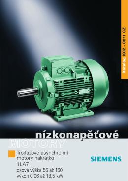 1LA7 - Elektromotory