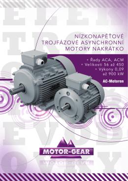 Elektromotory AC-Motoren verze MG - MOTOR