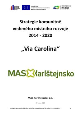Strategie - MAS Karlštejnsko, os