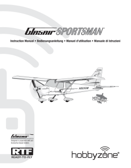 Glasair Sportsman Manual