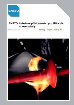 ENSTO kabelové příslušenství pro NN a VN silové kabely