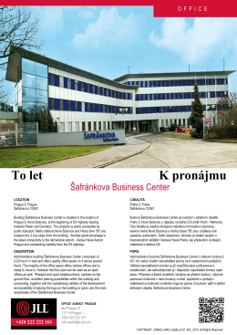 Šafránkova Business Center