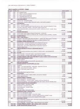 Návrh rozpočtu na rok 2015 - Výdaje [sxxx I I I