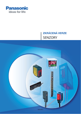 SENZORY - Panasonic Electric Works Europe AG