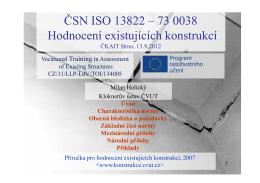 CSN_ISO_13822_730038_Hodnoceni-existujicich