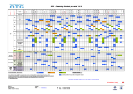 Kalendář kurzů 2015