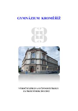 2011-2012 - Gymnázium Kroměříž