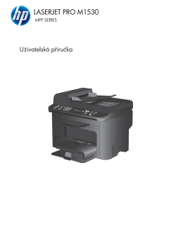HP LaserJet Pro M1530 MFP Series User Guide