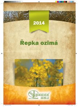 Katalog Řepka ozimá 2014