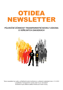 OTIDEA NEWSLETTER - E