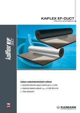 Kaiflex EF DUCT - katalog (PDF 0,3MB)