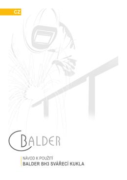 BALDER BH3 SVÁŘECÍ KUKLA CZ - Svářečky