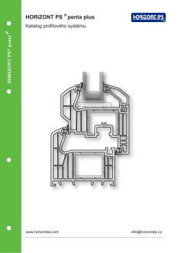 Katalog profilového systému HORIZONT PS penta plus