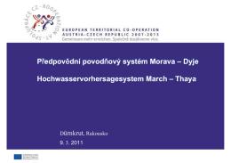 Předpovědní povodňový systém Morava – Dyje