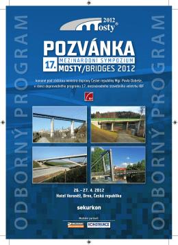 Pozvánka - Mosty.cz