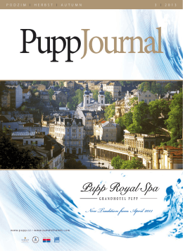 Pupp Journal Herbst 2013