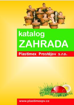 katalog - PLASTIMEX Prostějov sro