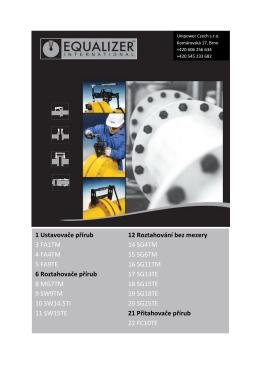 Equalizer – Údržba potrubí – česky (PDF, 2.8MB)