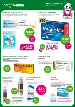 BALENÍ - lékárna těšnov