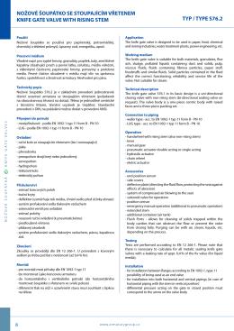 katalogový list (PDF)
