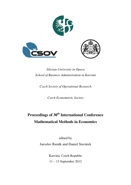 Proceedings of 30th International Conference