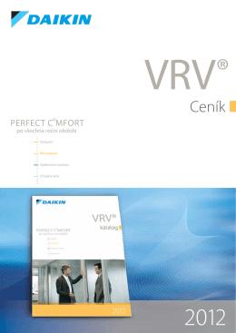 VRV III Komfortní vzduchová clona