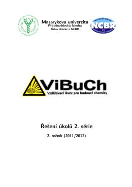 Řešení - ViBuCh - Masarykova univerzita