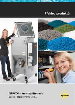 Přehled produktů - Gerco Kunststofftechnik GmbH