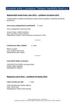 pdf dokumentu - Tiskárny Havlíčkův Brod as