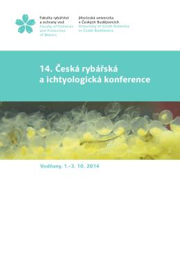 14. Česká rybářská a ichtyologická konference