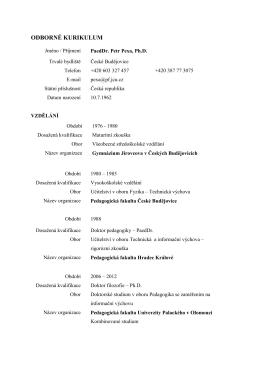 odborné kurikulum.pdf - Petr Pexa