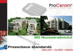 Katalog standardů firmy ProCeram (PDF)