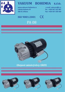 PA08 - Vakuum Bohemia