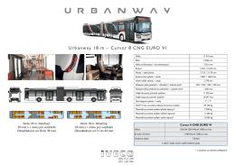 Urbanway 18 m – Cursor 8 CNG EURO VI