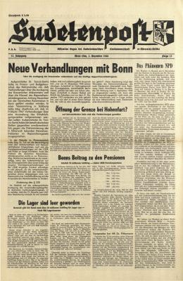 Neue Verhandlungen mit Bonn