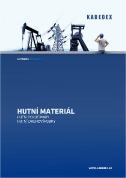 Katalog Hutní Materiál