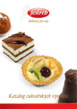 Katalog cukrářských výrobků