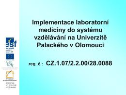 Základy histochemie a imunohistochemie.