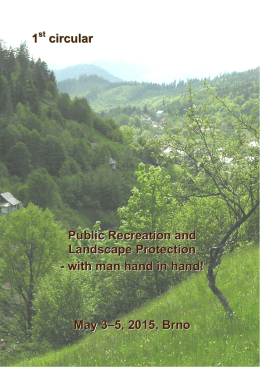 1 circular Public Recreation and Landscape Protection - with