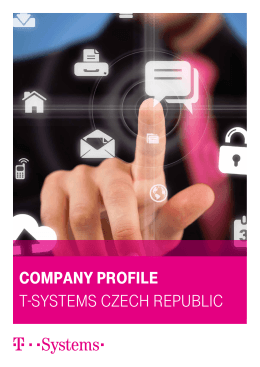 Company profile T-SySTemS CzeCh RepubliC