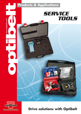 SERVICE TOOLS - Naismith Engineering